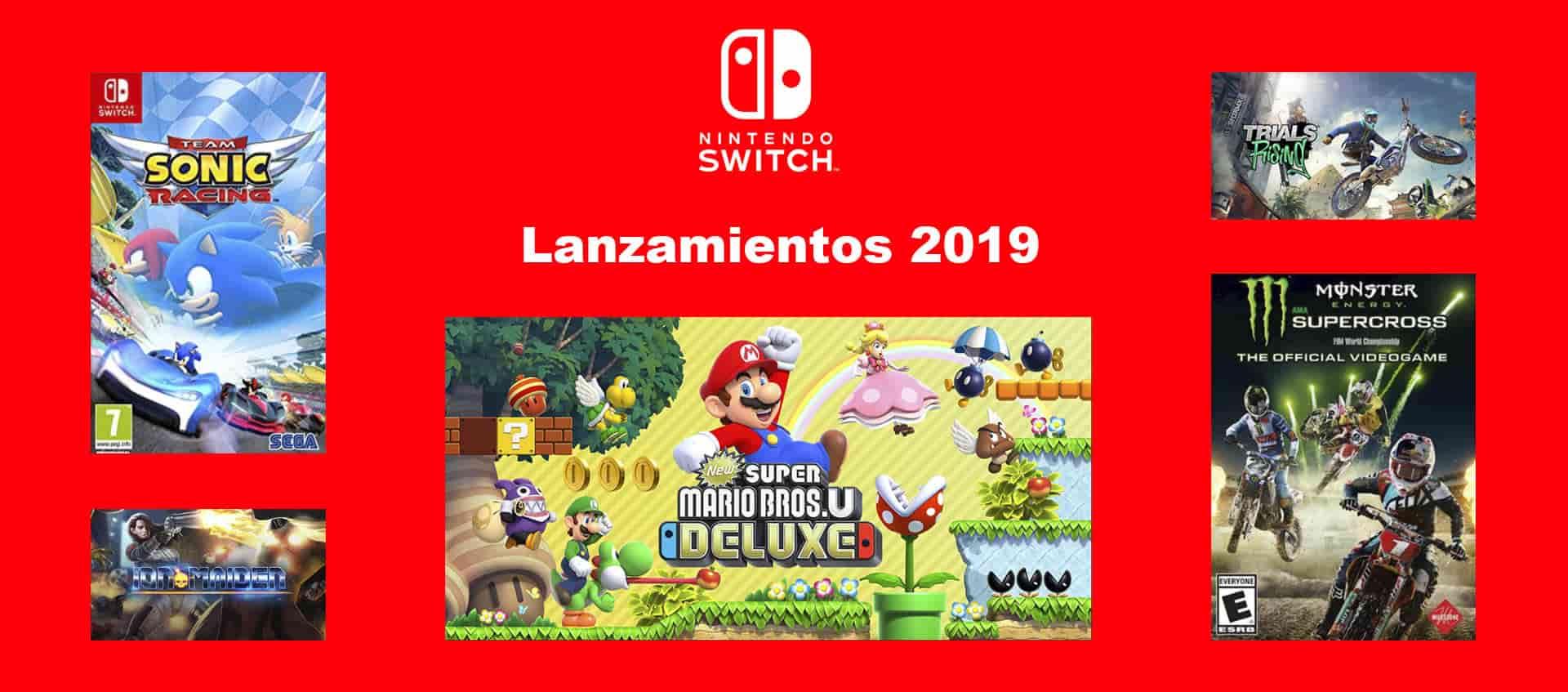 Blog Nintendo Switch Nuevos Lanzamientos 2019